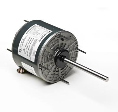 Marathon X468 48Y Frame Totally Enclosed 48A17T96 Condenser Fan Motor 1/2 hp, 1625 RPM, 208-230 VAC, 1 Phase, 1 Speed, Ball Bearing, Permanent Split Capacitor, Thru-Bolt