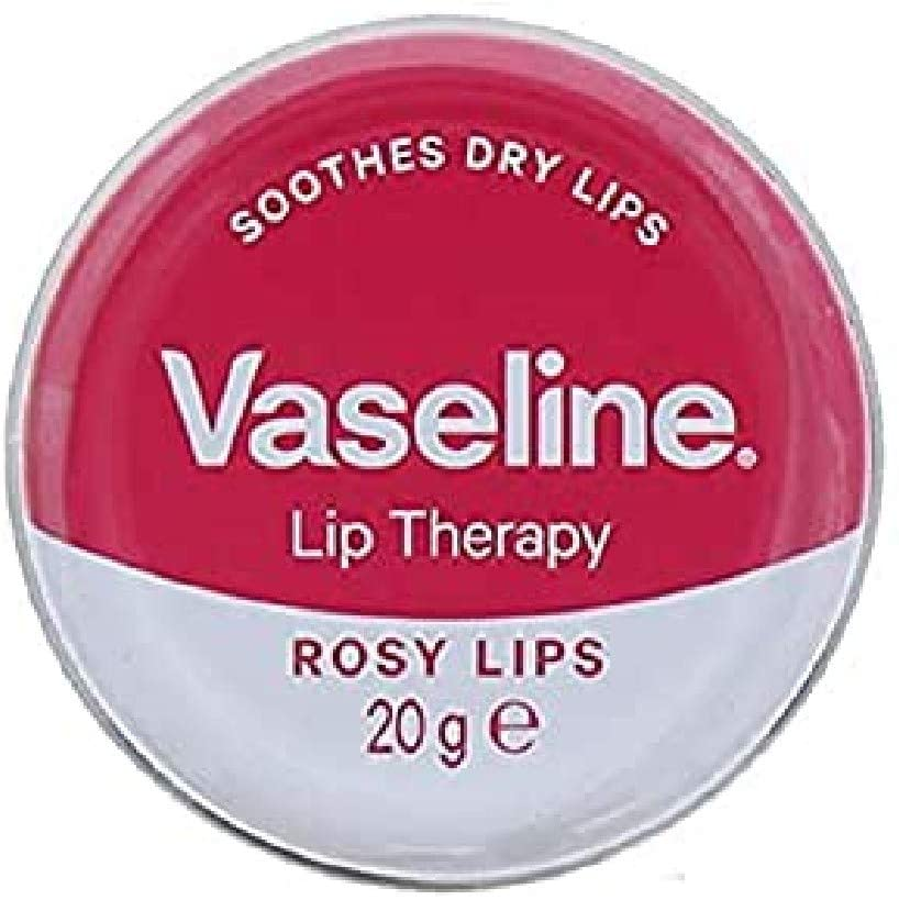 VASELINE Lip Therapy Rosy Lips with Rose & Almond Oil 20g/ 0.70 oz.