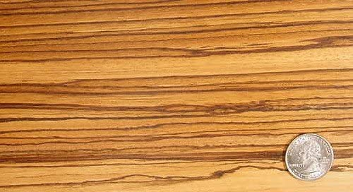 Zebrawood/Boards Lumber 1/8 X 8 X 36 Surface 4 Sides 36