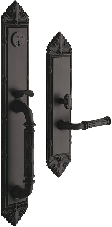 Baldwin Hardware Edinburgh Set Trim Front Door Handle