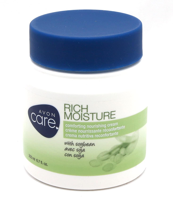 Avon Care Rich Moisture Comforting Nourishing Cream 6.7 Fl Oz
