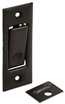 Solid Brass Jamb Pocket Door Bolt (Set of 10) (Chrome)