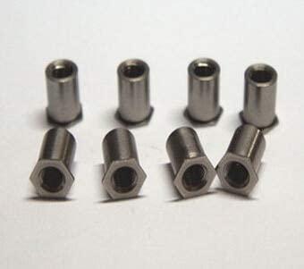 Ochoos 100PCS M36 MM Flat Hex Rivet Nut Rivnut Insert Nutsert column Nut