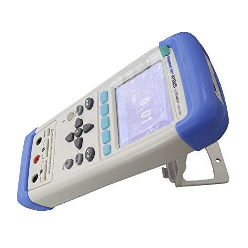AT825 Handheld Digital LCR Meter with LCD Display RLC Meter ESR Meter