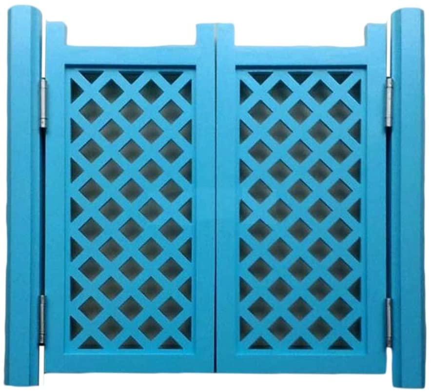 CAIJUN Swinging Doors Saloon Entrance Partition Door, Indoor Solid Wood Hollow-Carved Design, 2 Color, 16 Sizes, Customizable (Color : B, Size : 75x60cm)
