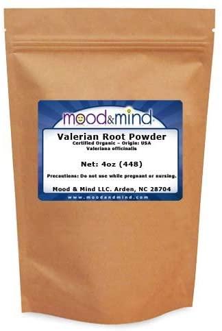Organic Valerian Root Powder (4oz)
