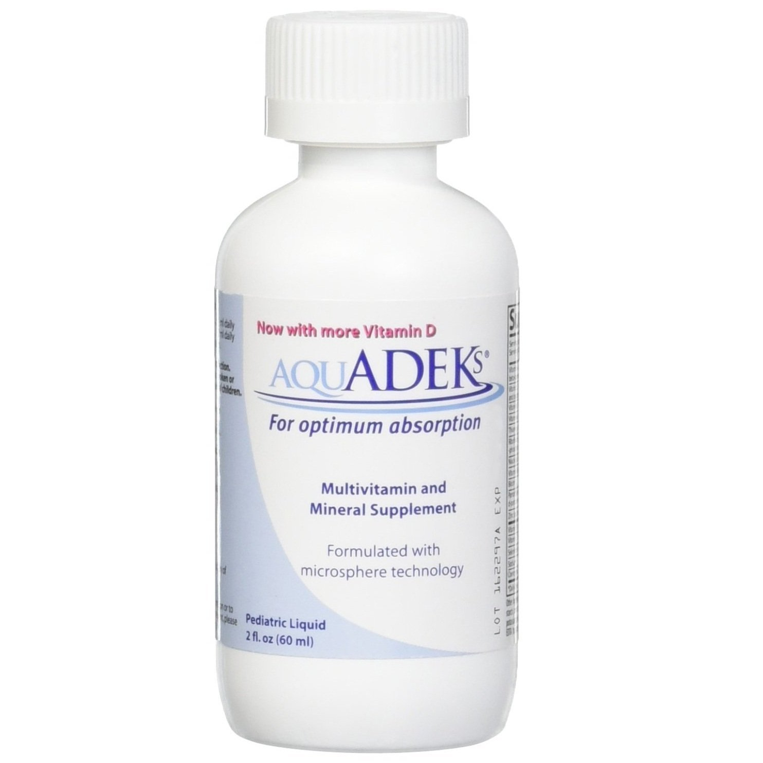 AQUADEKS Pediatric Drops 60MED L