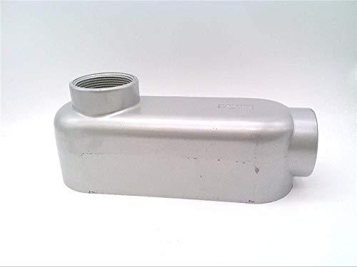 TOPAZ ELECTRIC LB7 LB Type, Rigid, 2-1/2IN, Copper Free Aluminum, Conduit Body, Threaded