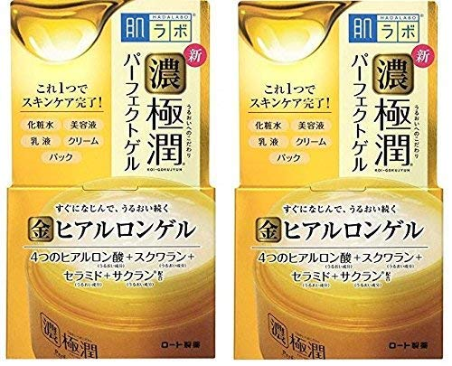 HADALABO Gokujyun Hyaluronic Perfect gel 100g/3.5oz (set of 2)
