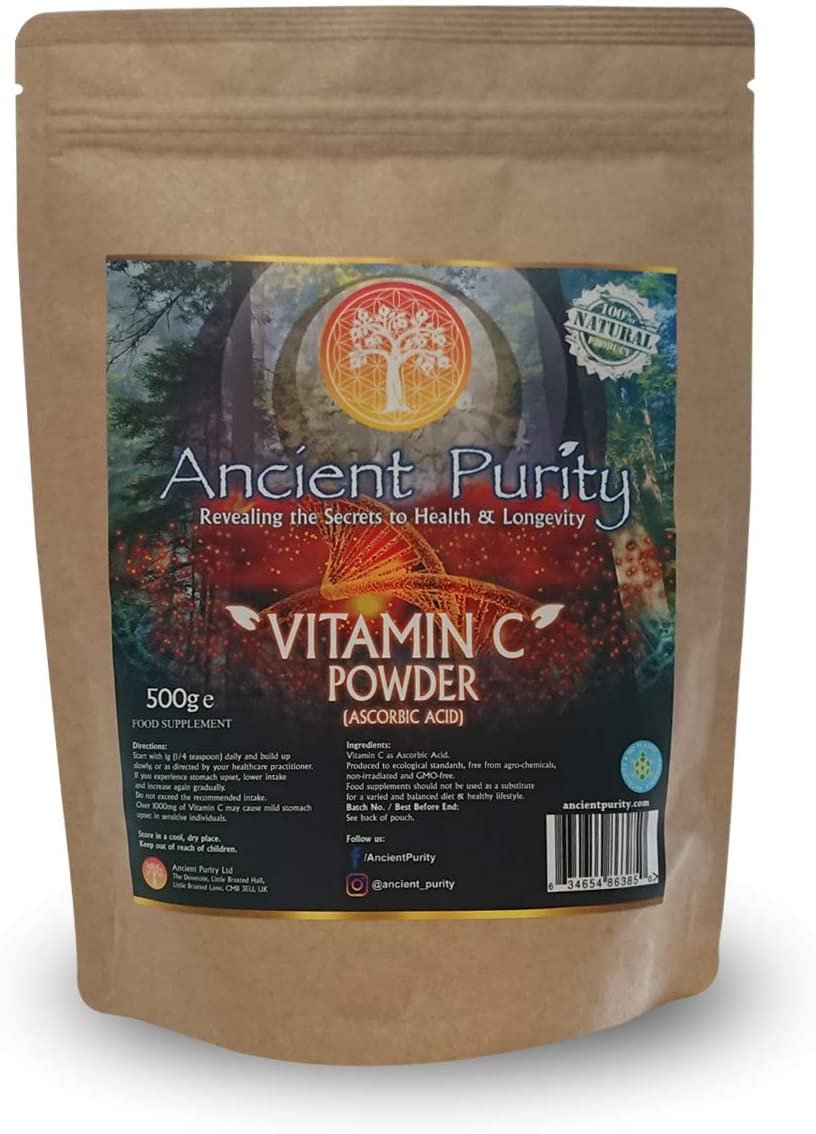 Vitamin C Powder 500g Pure asorbic Acid