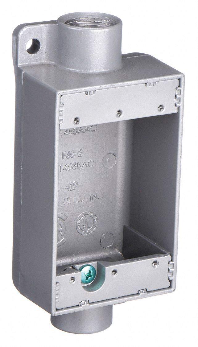 Killark FSC-1 FSC Type Cast Device Box, 1/2