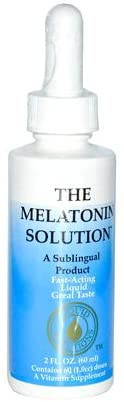 Sublingual Products Melatonin Solution, 2 Fluid Ounce