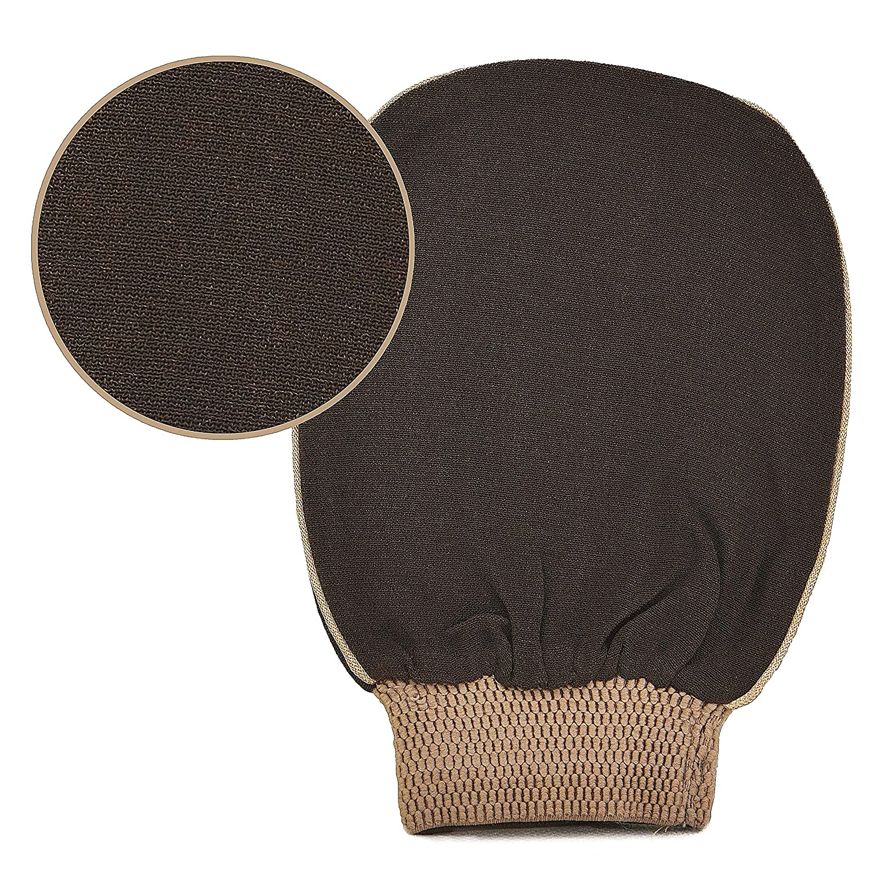 Natural Elephant Moroccan Premium Kessa Hammam Glove Exfoliating Treatment Mitt