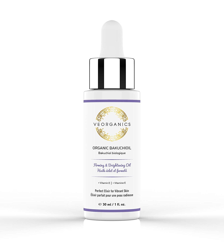 Organic Bakuchioil (Babchi Oil) + Vitamin E by VeOrganics. Firming, Brightening, Soothing and Moisturizing Anti-Aging Facial Oil. Natural Retinol Alternative.