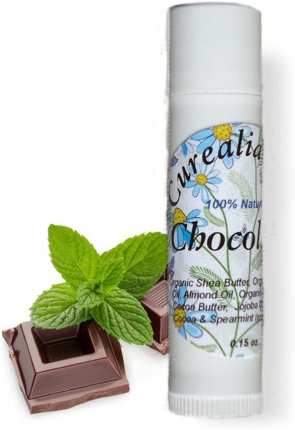 Chocolate Lips - All Natural Lip Balm Gloss - Curealia