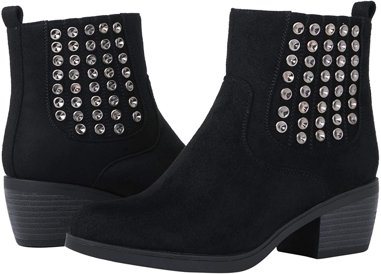 GLOBALWIN Women's 18YY08 Black Fashion Boots 5.5M