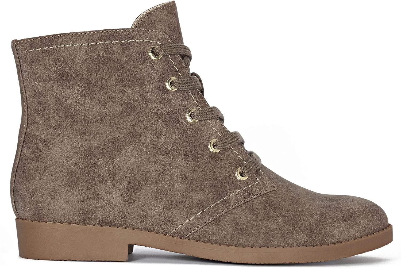 Indigo Rd. Womens Indigo Fabric Almond Toe Ankle Fashion Boots