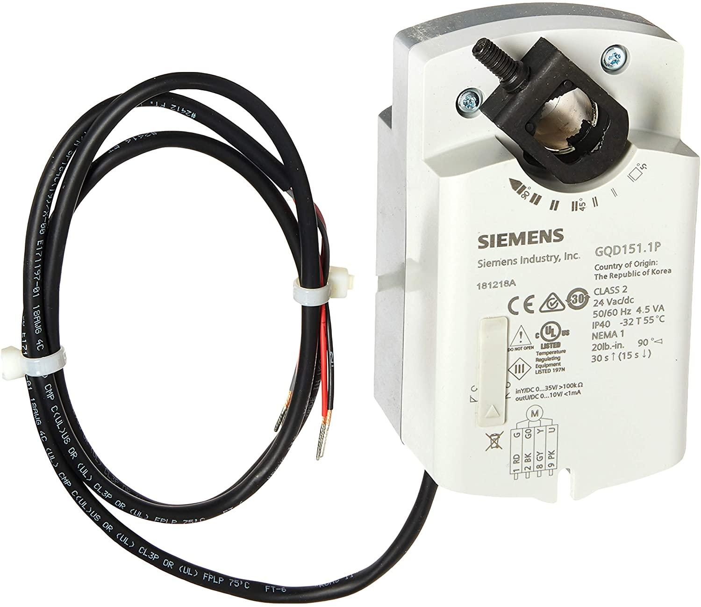 Siemens GQD151.1P 20 LB-IN, SR, 2-10VDC, 24V