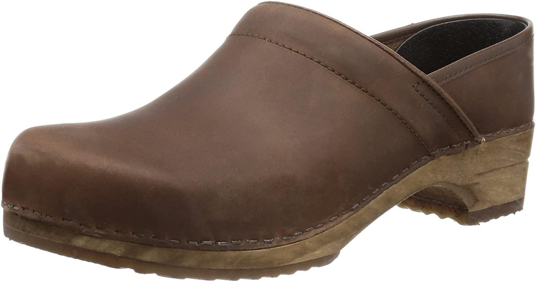 Sanita Women's Clogs & Mules, Brown, Womens 8