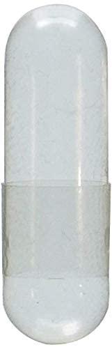 Capsule Connection Wholesale 500 Bulk Empty Gelatin Capsules, 00 Size resealable bag