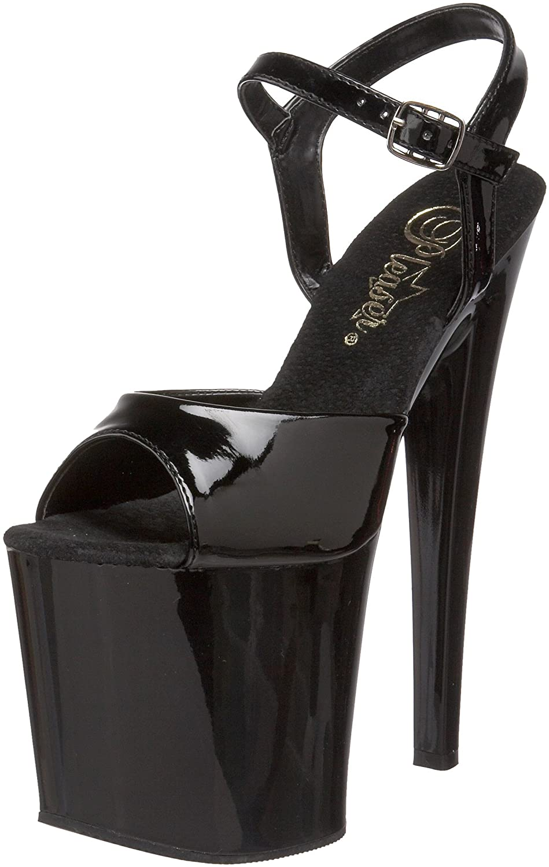 Pleaser Women's Taboo-709B Platform Sandal