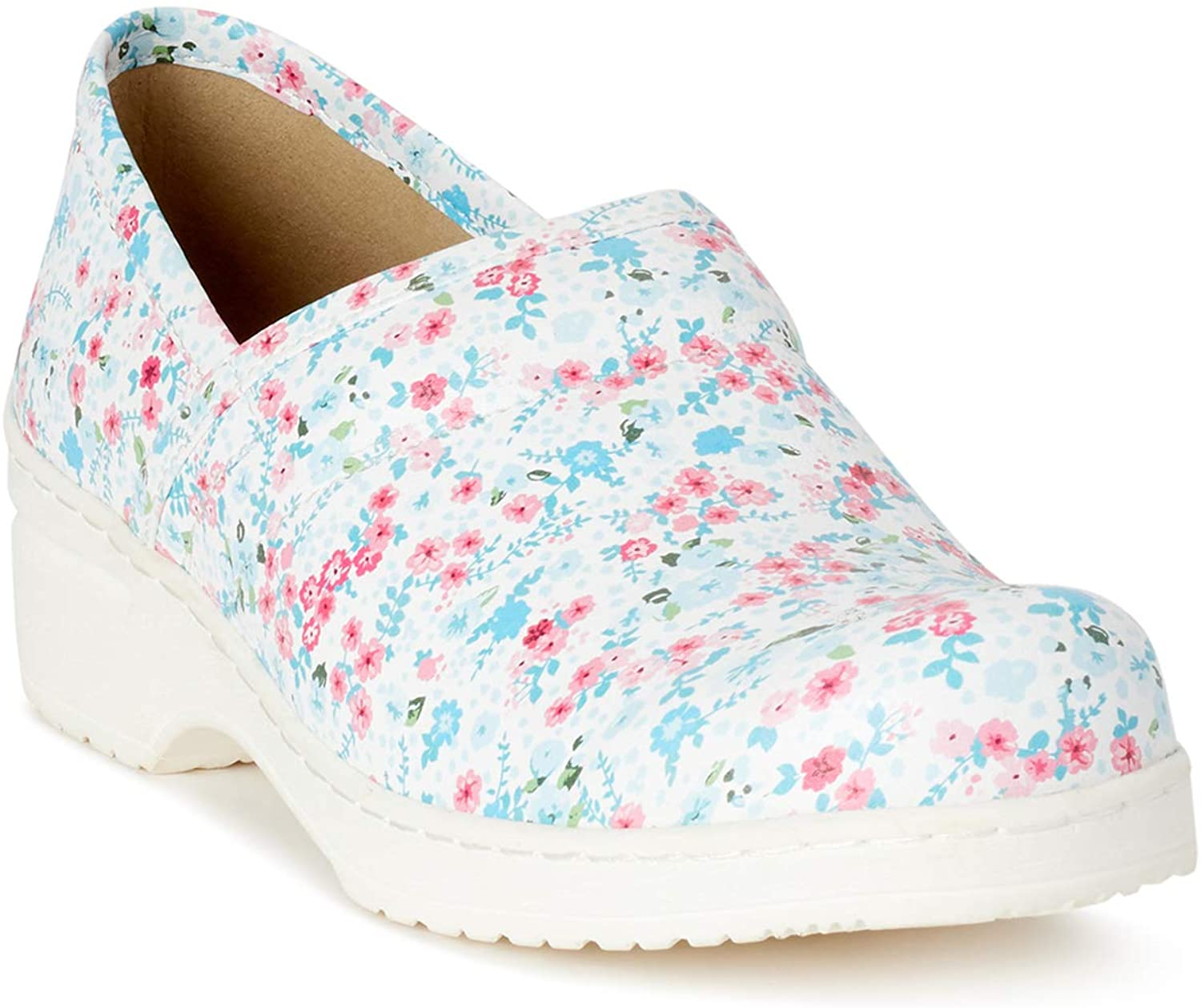 Ohmm Slip Resistant Professional Clogs for Women in Classic Solids and Fun Prints