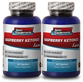Fat Burners for Men Weight Loss - Raspberry Ketones Lean - Raspberry Ketones to Increase Fat Metabolism (2 Bottles)