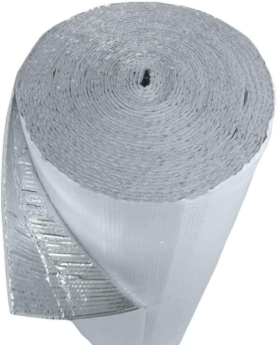 NasaTech White Single Bubble Concrete Reflective Insulation 200 sf 4ft x 50ft