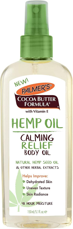 Palmer's Cocoa Butter Formula Hemp Oil Calming Relief Body Oil, 5.1 Fl. Oz