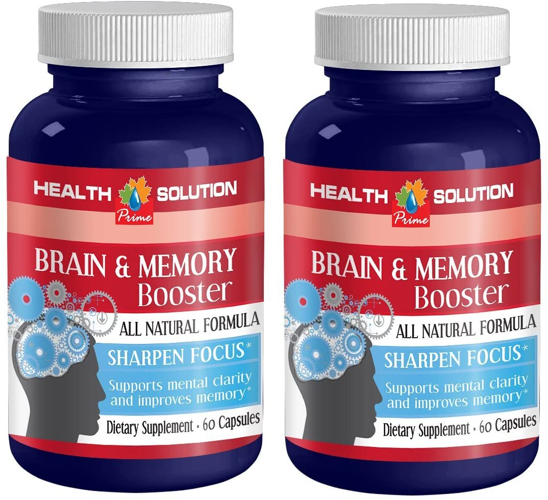 L carnitine Powder Supplement - Brain and Memory Booster - Increase Speed of Memory (2 Bottles)