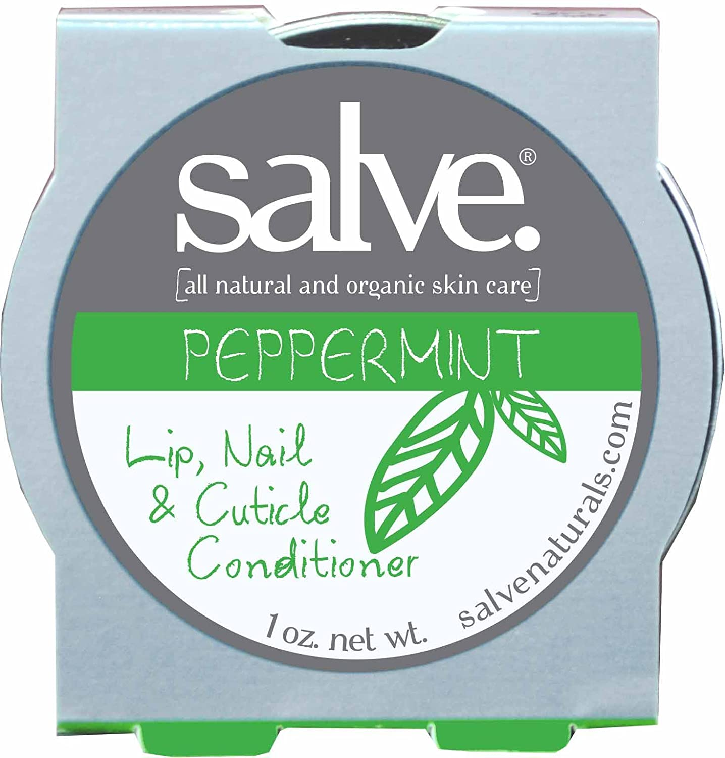 Peppermint Lip, Nail, Cuticle Conditioner