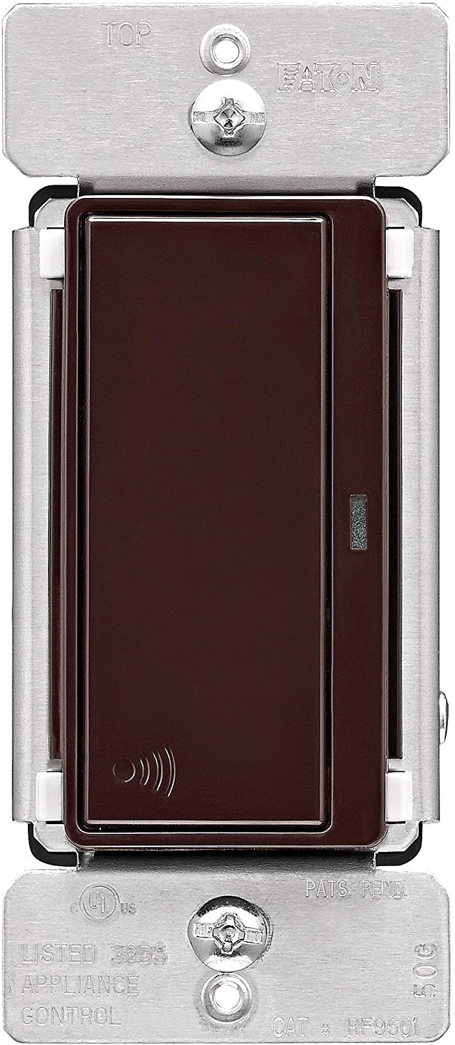 EATON RF9601DB Z-Wave Plus Wireless Switch, Brown