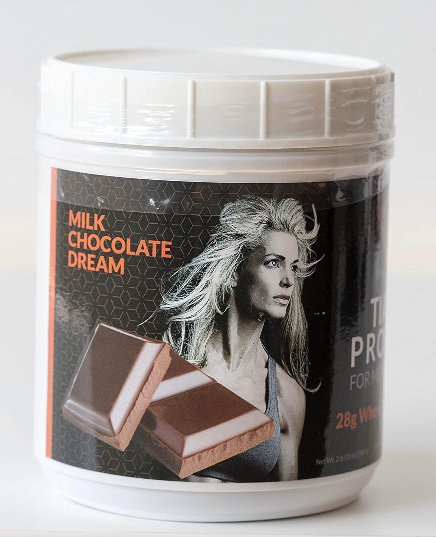 Tiara Protein 2-lb (Chocolate) - 100% Whey Protein Isolate - Highest Quality Protein - Delicious Taste!