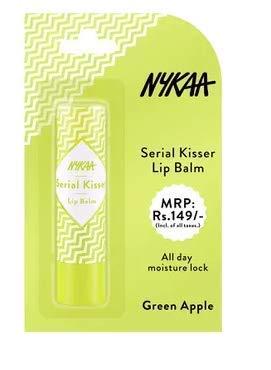 Nykaa Serial Kisser Lip Balm - Green Apple (4.5gm)