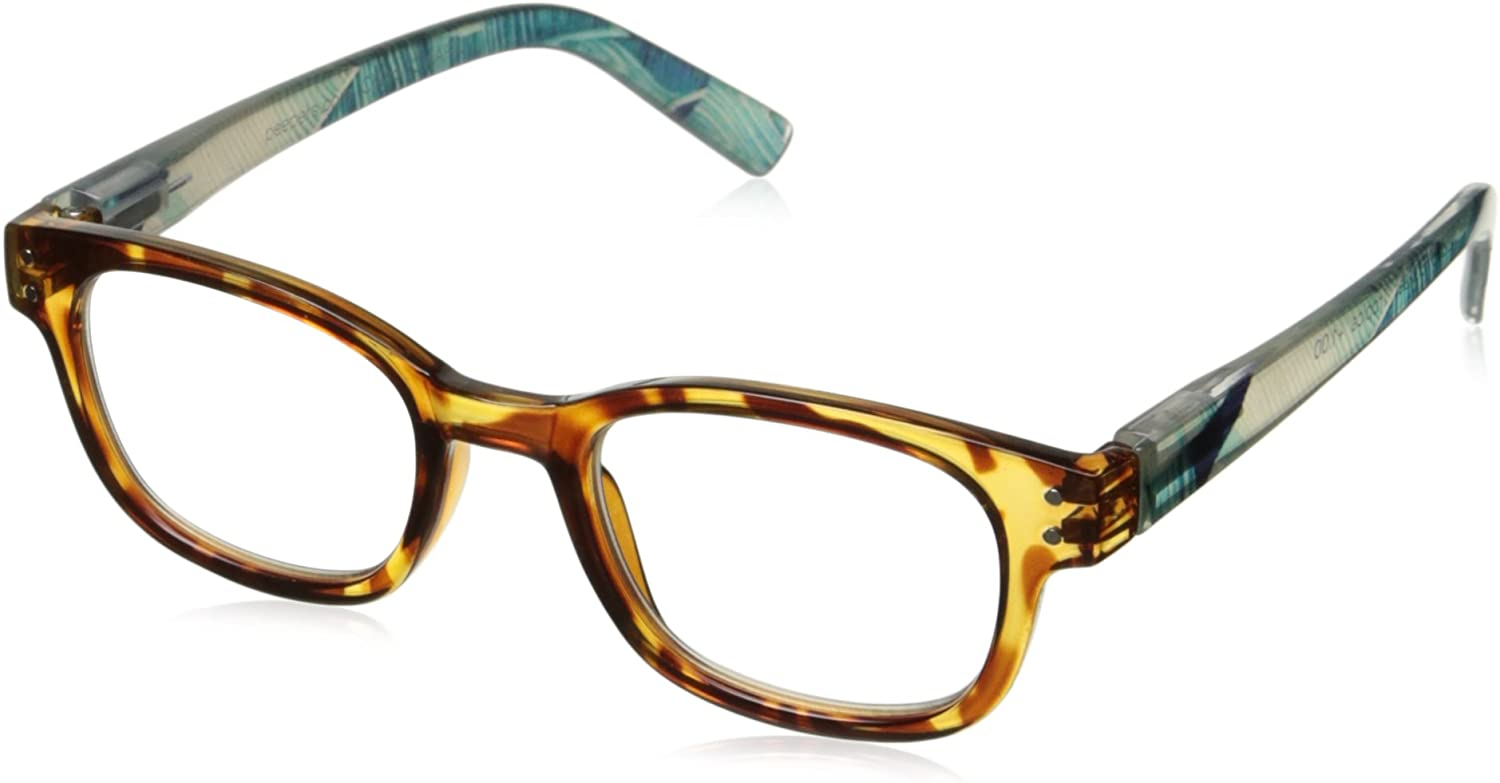 Peepers by PeeperSpecs Women's Sunset Tropics Oval Reading Glasses
