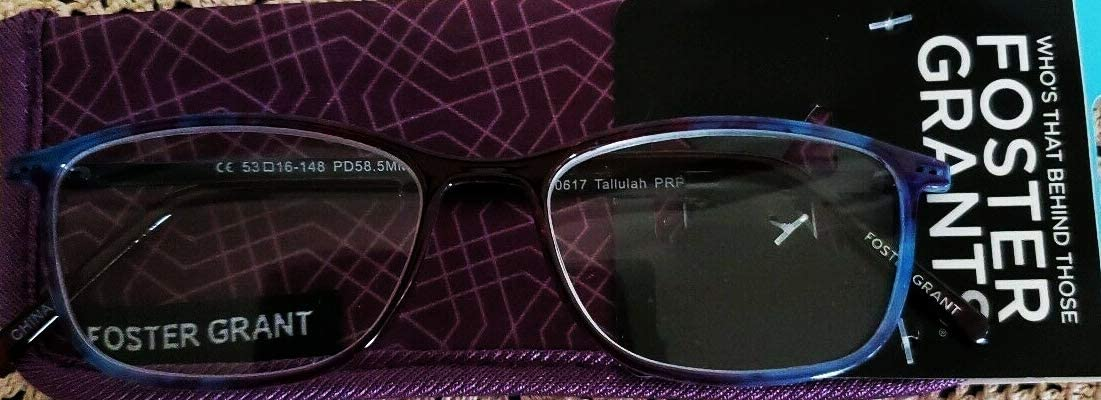 Foster Grant Tallulah Reading Glasses Purple 1.50
