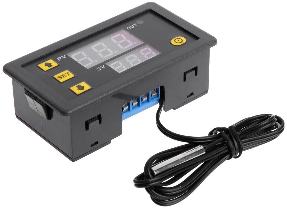 Rhfemd W3230 DC 12V 20A Digital Temperature Controller -50-120°C Thermostat Regulator