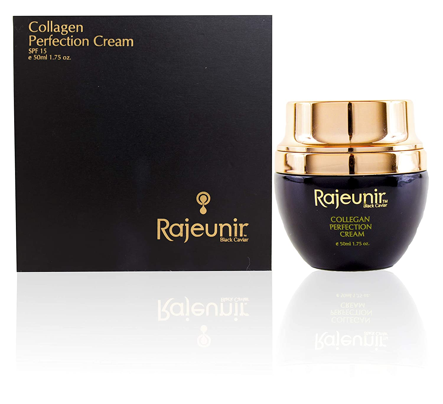 Rajeunir Black Caviar Collagen Perfection Cream is Enhanced With Natural Collagen That Deeply Hydrates the Skin and Bestows It With a Younger, Fresher Appearance