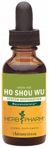 Ho Shou WU Extract, 4 Oz by Herb Pharm (Pack of 6)