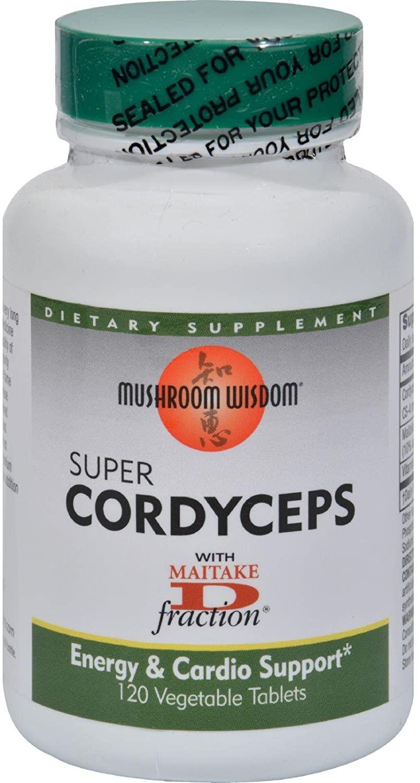 Mushroom Wisdom Super Cordyceps - 120 Caplets