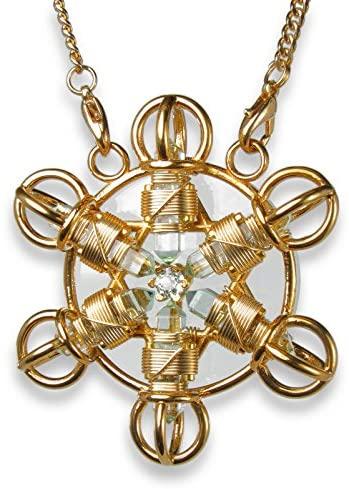Buddha Maitreya the Christ Shambhala Star in 24K Gold Plate- Shambhala Healing Tool to Wear