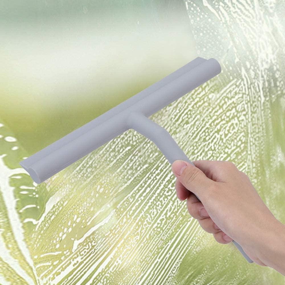 Window Cleaning Tools - Household Long Handle Window Cleaner Bathroom Glass Washing Tool