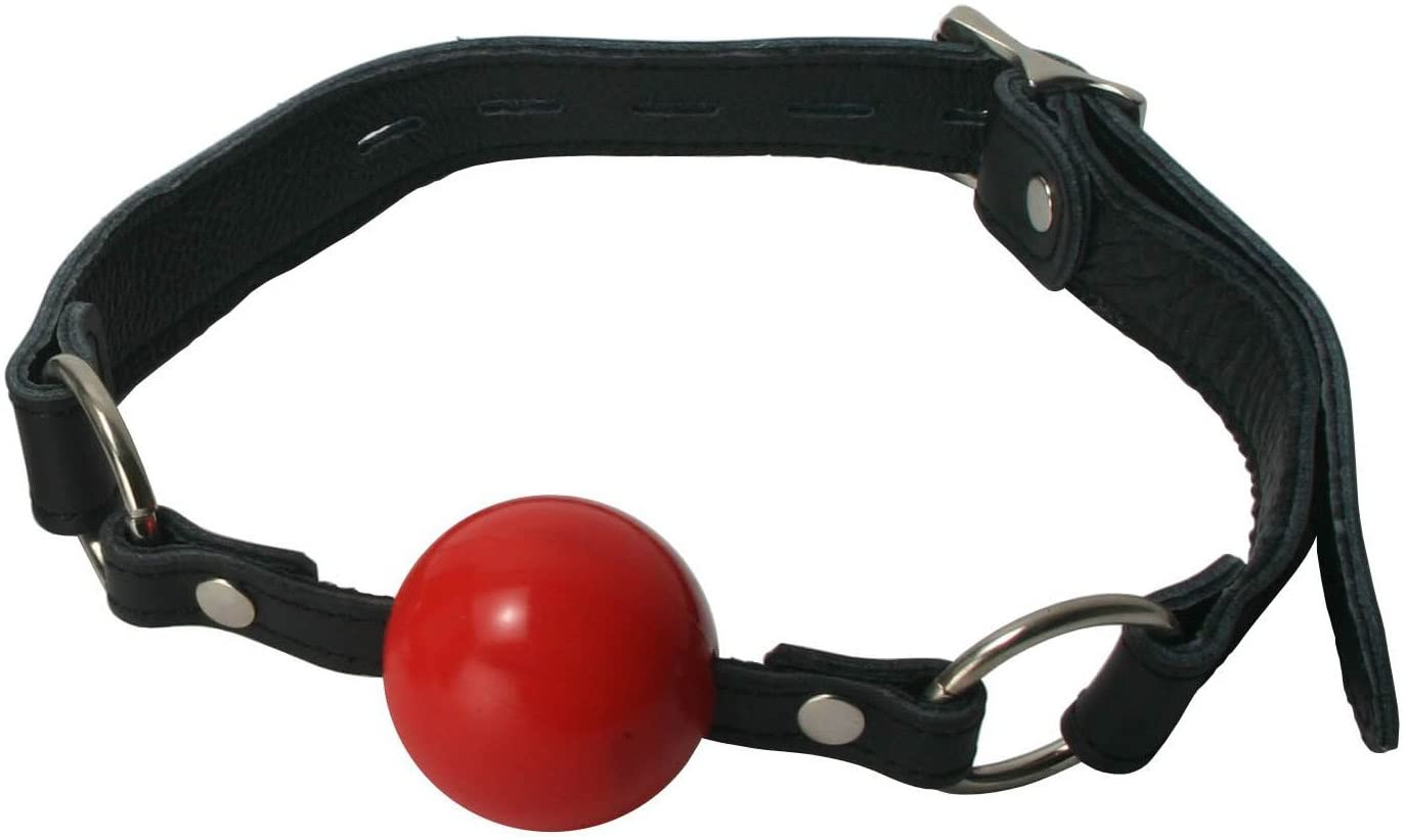 Strict Leather Classic Locking Ball Gag, Red
