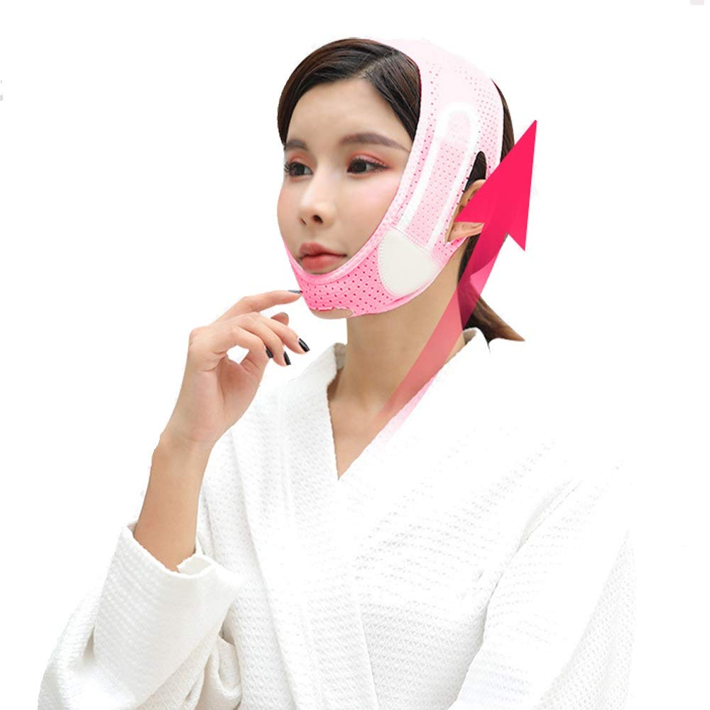 Anti Wrinkle Face-lift Slimming Cheek Mask,double Chin Reducer,face Slimming Mask For Women V Face Chin Cheek Lift Up Face Slim Mask Ultra-thin Belt Strap Band Durable And Useful Practical