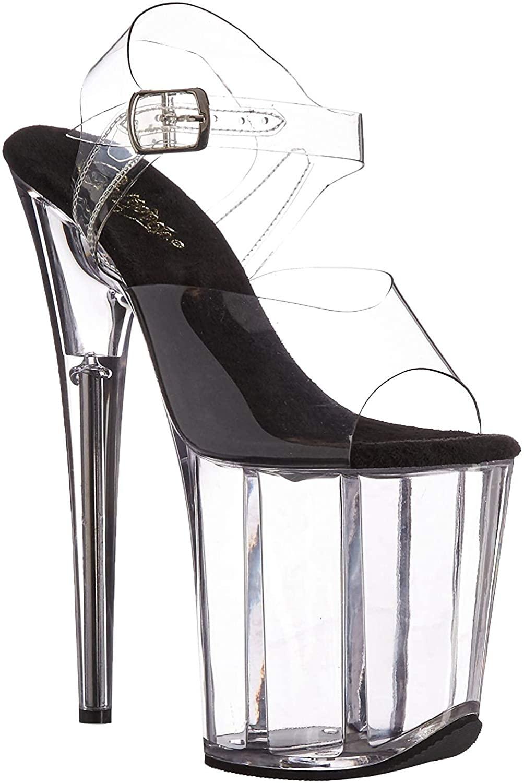 Pleaser Womens Flam808/C-b/C Platform Sandal