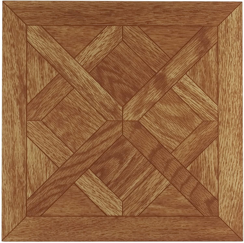 Achim Home Furnishings FTVWD20120 Nexus 12-Inch Vinyl Tile, Wood Classic Parquet Oak, 20-Pack