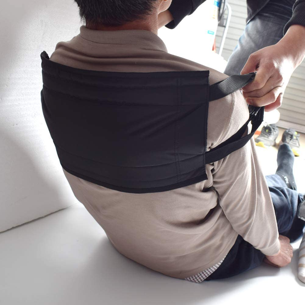 Fushida Transfer Sling Pad, Medical Transfer Board with Durable Handles,Standing Up Assist Gait Belt Harness for Disabled Elderly, Extended Length & Width 29.5