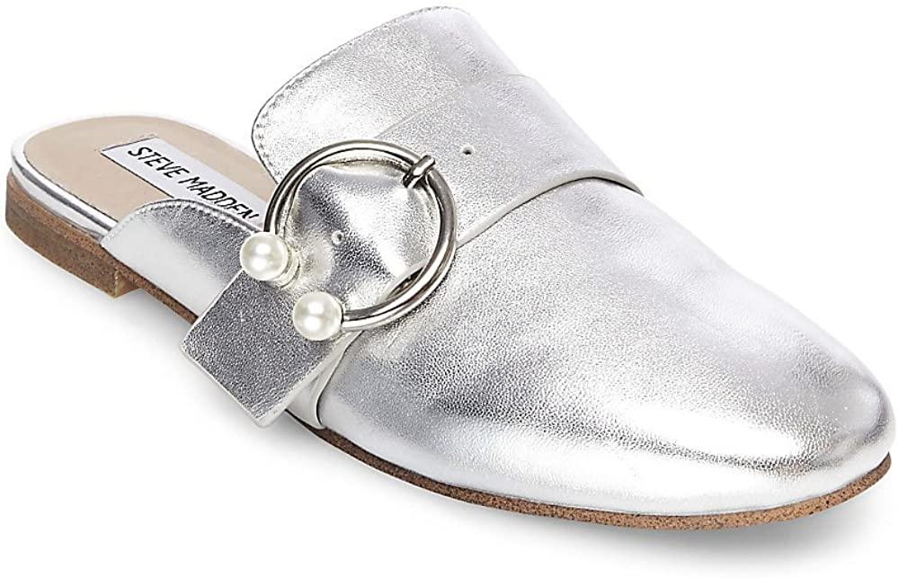 Steve Madden Womens Hilary Loafer Mule Shoes