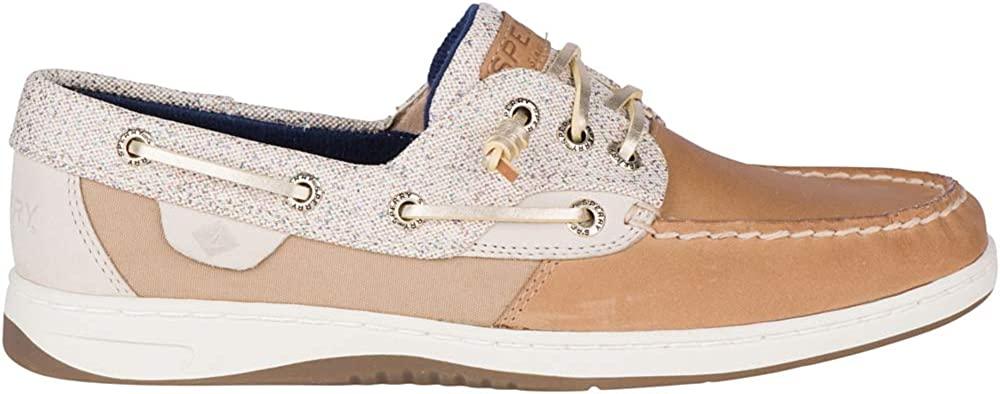 Sperry Women's, Rosefish Boat Shoe Linen Oat Sparkle