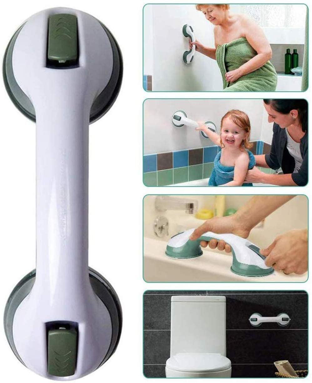 ZSBY Bathroom Support Handle with Suction, Anti-Slip Super Grip Bath Handle, for Elderly, Children, Disabled, Pregnant Women